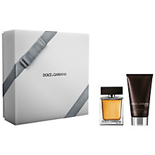 Buy Dolce & Gabbana The One Men's Fragrance Gift Set, 75ml Online at johnlewis.com
