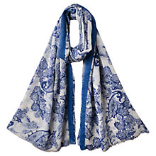 Buy East Cellia Paisley Print Scarf, Ink Online at johnlewis.com