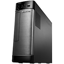 Buy Lenovo H530s Desktop PC, Intel Core i7, 12GB RAM, 1TB + 8GB SSD, Black Online at johnlewis.com