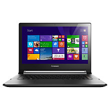 "Buy Lenovo Flex 2D Dual-Mode Laptop, AMD A6, 4GB RAM, 500GB + 8GB SSHD, 14"" Touch Screen, Black Online at johnlewis.com"