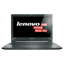 "Buy Lenovo G50-70 Laptop, Intel Core i5, 8GB RAM, 1TB, 2GB Graphics, 15.6"", Black Online at johnlewis.com"