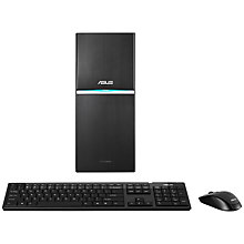 Buy Asus G10AJ Desktop PC, Intel Core i7, 8GB RAM, 2TB, Black Online at johnlewis.com