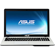 "Buy Asus X550CA Laptop, Intel Core i5, 6GB RAM, 1TB, 15.6"", White + Norton 360 Online at johnlewis.com"