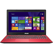 "Buy Asus X553MA Laptop, Intel Celeron, 4GB RAM, 1TB, 15.6"", Pink + Norton 360 Online at johnlewis.com"