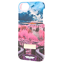 Buy Ted Baker Plima Road to Nowhere Iphone 5 Case, Pink Online at johnlewis.com