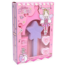 Buy Glitter Fairies Twinkle's Show Bath Set, Pink Online at johnlewis.com