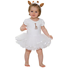 Buy Sophie la Girafe Tutu & Headband, White Online at johnlewis.com
