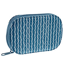 Buy John Lewis Malmo Zip Sewing Kit, Blue Online at johnlewis.com