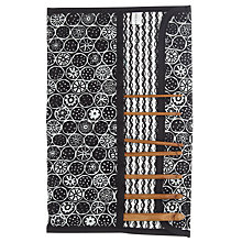 Buy John Lewis Malmo Crochet Roll, Black/White Online at johnlewis.com