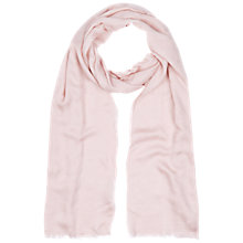 Buy Hobbs Spot Jacquard Scarf, Lace Pink Online at johnlewis.com
