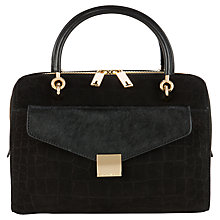 Buy Ted Baker Alexia Leather Clutch Bowler Bag Online at johnlewis.com