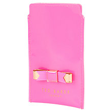 Buy Ted Baker Minicio Bow Phone Sleeve Online at johnlewis.com