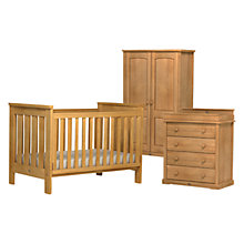 Buy Boori Pioneer Wardrobe, Cotbed and Dresser Set Online at johnlewis.com