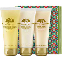 Buy Origins Ginger Treasures Gift Set, 3 x 100ml Online at johnlewis.com