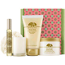 Buy Origins Ginger Pleasures Gift Set Online at johnlewis.com