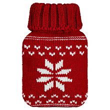 Buy Snowflake Mini Hottie Hand Warmer, Red Online at johnlewis.com