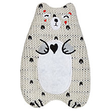 Buy Woodland Bear Hot Water Bottle, 750ml Online at johnlewis.com