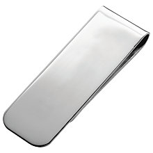 Buy Carrs Sterling Silver Money Clip Online at johnlewis.com