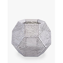 Buy Tom Dixon Etch Tealight Holder, Silver Online at johnlewis.com