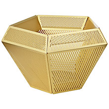 Buy Tom Dixon Cell Tealight Holder, Brass Online at johnlewis.com