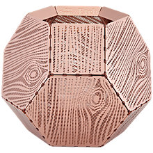 Buy Tom Dixon Etch Tealight Holder, Copper Online at johnlewis.com