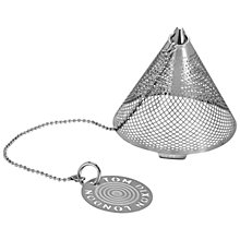 Buy Tom Dixon Etch the Clipper Tea-Strainer, Silver Online at johnlewis.com