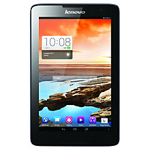 "Buy Lenovo A8-50 Tablet, Quad-core Processor, Android, 8"", Wi-Fi & 3G, 16GB Online at johnlewis.com"