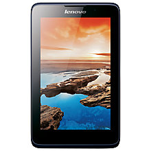 "Buy Lenovo A7-50 Tablet, Quad-core Processor, Android, 7"", Wi-Fi, 16GB, Midnight Blue Online at johnlewis.com"