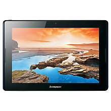"Buy Lenovo A10-70 Tablet, Quad-core Processor, Android, 10.1"", Wi-Fi, 16GB, Midnight Blue Online at johnlewis.com"
