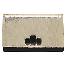 Buy Miss KG Tallulah Sequin Jewel Detail Clutch Bag Online at johnlewis.com