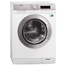 Buy AEG L88409FL2 Washing Machine, 10kg Load, A+++ Energy Rating, 1400rpm Spin, White Online at johnlewis.com