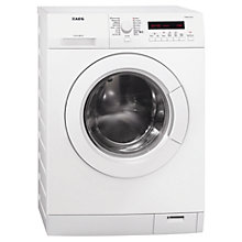 Buy AEG L75480FL Washing Machine, 8kg Load, A+++ Energy Rating, 1400rpm Spin, White Online at johnlewis.com