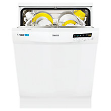 Buy Zanussi ZDF14011WA Freestanding Dishwasher, White Online at johnlewis.com