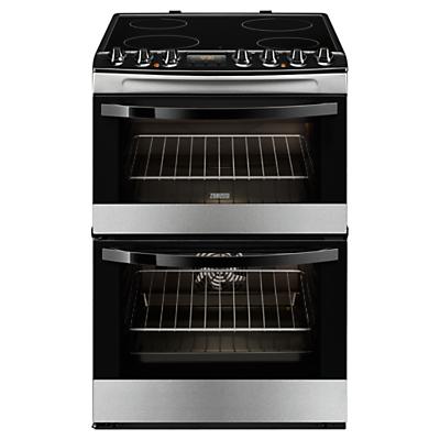 Zanussi ZCV68310XA Electric Cooker, Stainless Steel