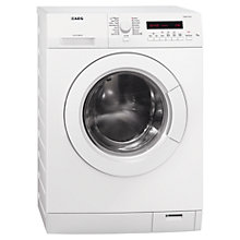 Buy AEG L75475FL Freestanding Washing Machine, 7kg Load, A+++ Energy Rating, 1400rpm Spin, White Online at johnlewis.com
