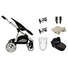 Buy iCandy Apple 2 Pear Pushchair Package, Cookie Online at johnlewis.com