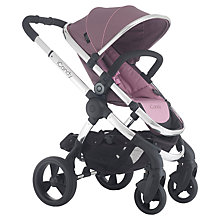 Buy iCandy Peach 3 Pushchair with Chrome Chassis & Marshmallow Hood Online at johnlewis.com