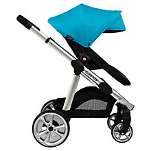 Buy iCandy Apple 2 Pear Anniversary Pushchair Package with Silver Chassis & Blue Hood Online at johnlewis.com
