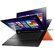 "Buy Lenovo Yoga 2 Pro Convertible Ultrabook, Intel Core i7, 8GB RAM, 256GB SSD, 13.3"" QHD+ Touch Screen, + Microsoft Office 365 Personal Online at johnlewis.com"