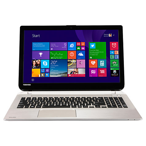 "Buy Toshiba Satellite S50-B-12Z Laptop, Intel Core i7, 8GB RAM, 1TB, 15.6"", Silver Online at johnlewis.com"
