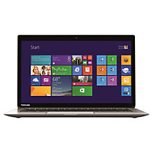 "Buy Toshiba Kira-102 Ultrabook, Intel Core i7, 8GB RAM, 256GB SSD, 13.3"" Touch Screen Online at johnlewis.com"
