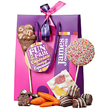 Buy James Chocolates Fun at the Fair Chocolate Tasting Bag, 290g Online at johnlewis.com