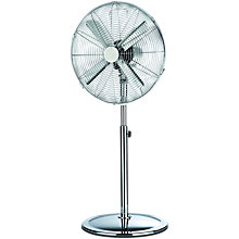 Buy NSA'UK SF-1616-1CR Pedestal Fan, Chrome Online at johnlewis.com