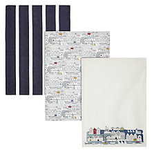 Buy John Lewis Nordic Coast Tea Towel, Set of 3 Online at johnlewis.com