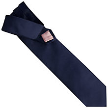 Buy Thomas Pink Plain Rose Silk Tie Online at johnlewis.com