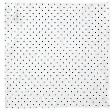Buy BOSS Small Polka Dot Silk Pocket Square Online at johnlewis.com