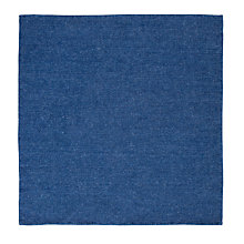 Buy John Lewis Mills Denim Pocket Square, Blue Online at johnlewis.com