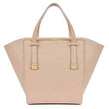 Buy Ted Baker Tasmin Metal Bar Leather Shopper Bag Online at johnlewis.com