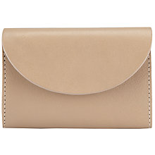 Buy COLLECTION by John Lewis Leather Lauren Coin Purse, Natural Online at johnlewis.com
