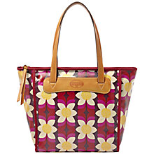 Buy Fossil Keyper Shopper Bag, Multi Pink Online at johnlewis.com